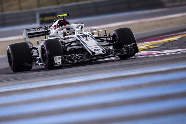 Charles Leclerc qualification France 2018