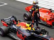 Daniel Ricciardo the top Monaco 2018