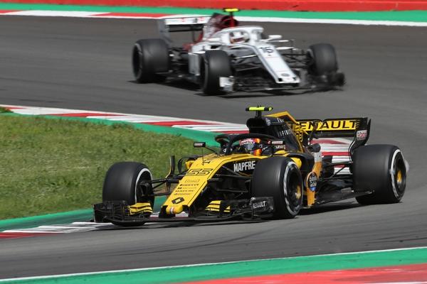 Carlos Sainz course Espagne 2018