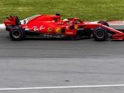 Sebastian Vettel course Canada 2018