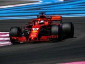 Sebastian Vettel the flop France 2018