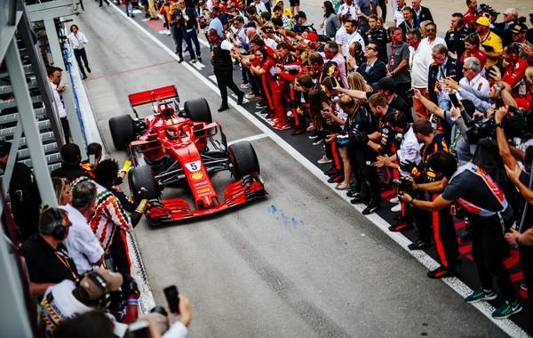 Sebastian Vettel the top Canada 2018