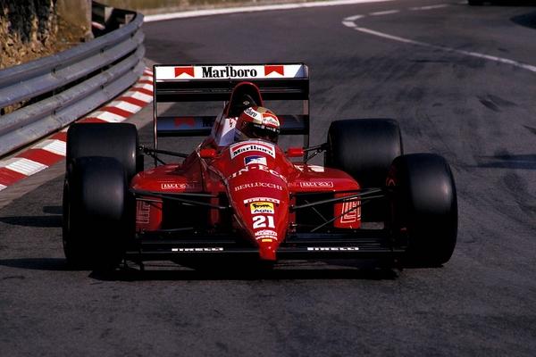 Alex Caffi Monaco 1989