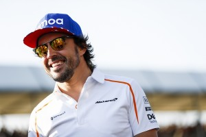 Fernando Alonso top Angleterre 2018