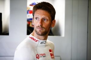 Romain Grosjean flop Angleterre 2018