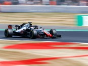Romain Grosjean the flop Angleterre 2018