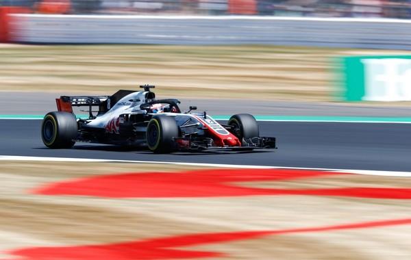 Romain Grosjean the flop Angleterre 2018