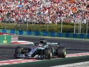 Lewis Hamilton course Hongrie 2018