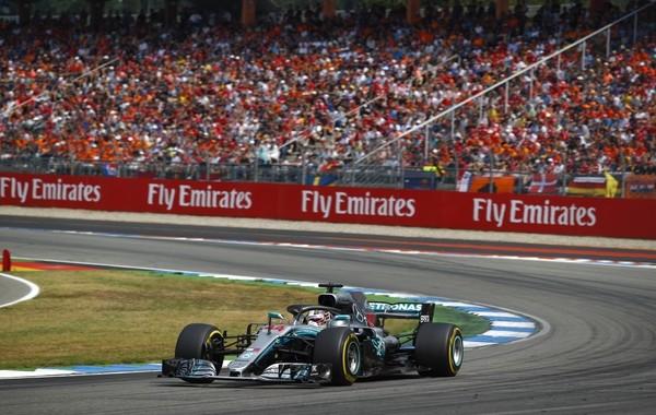 Lewis Hamilton course Allemagne 2018