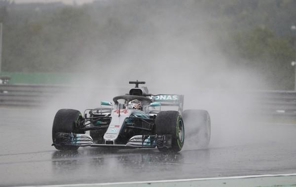 Lewis Hamilton qualification Hongrie 2018