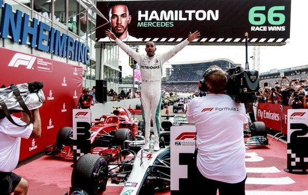 Lewis Hamilton the top Allemagne 2018