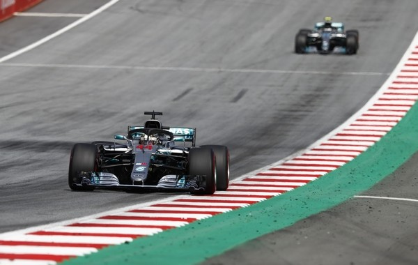 Mercedes the flop Autriche 2018