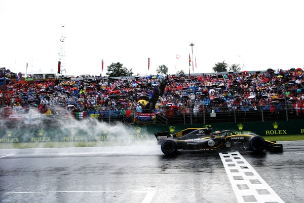Carlos Sainz qualification Hongrie 2018