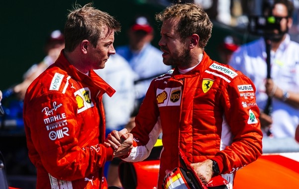 Sebastian Vettel the top Angleterre 2018