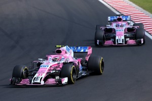 Force India flop Hongrie 2018