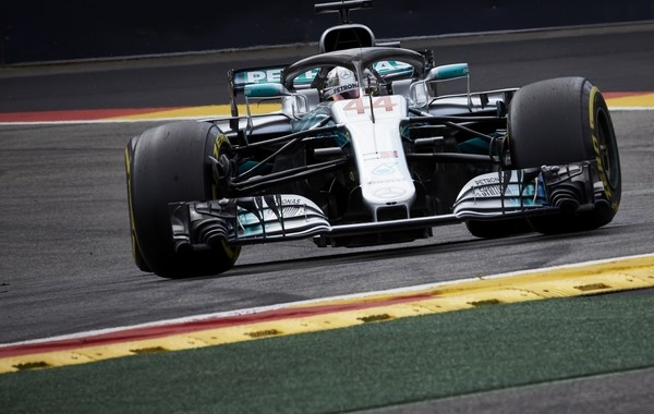 Lewis Hamilton qualification Belgique 2018