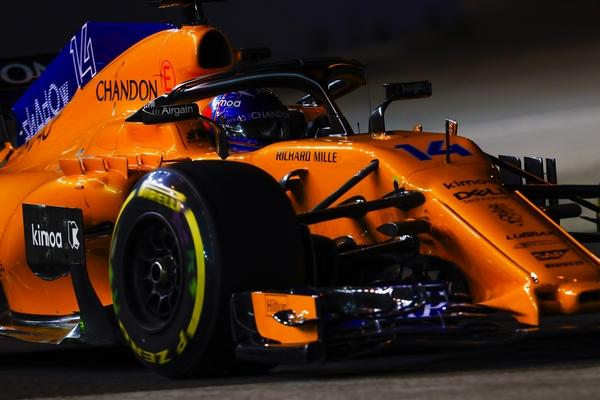 Fernando Alonso course Singapour 2018