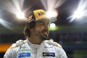 Fernando Alonso top Singapour 2018