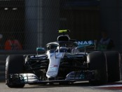 Valtteri Bottas qualification Russie 2018