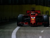 Ferrari the flop Singapour 2018