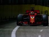 Ferrari the flop Singapour 2018