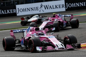 Force India top Belgique 2018