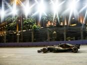 Lewis Hamilton qualification Singapour 2018