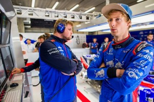 Brendon Hartley flop Belgique 2018