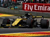 Nico Hulkenberg the flop Belgique 2018
