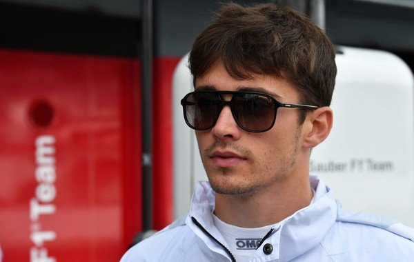 Charles Leclerc Italie 2018
