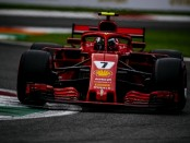 Kimi Raikkonen qualification Italie 2018