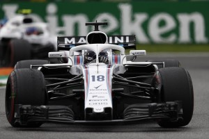 Williams top Italie 2018
