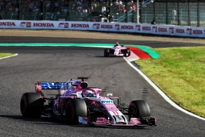 Force India top Japon 2018