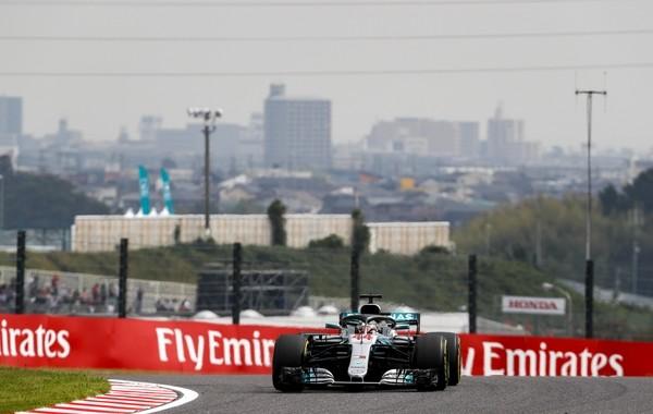 Lewis Hamilton course Japon 2018