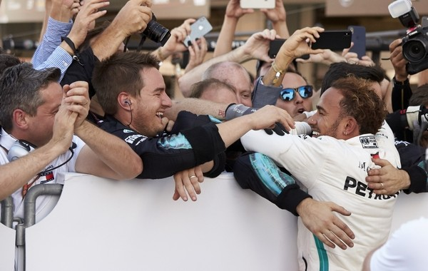 Lewis Hamilton the top Japon 2018
