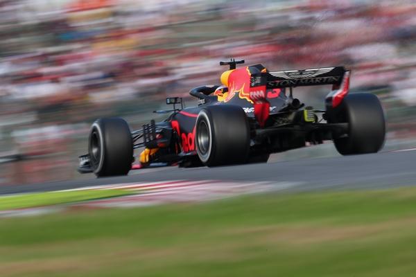 Daniel Ricciardo course Japon 2018