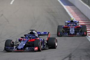 Toro Rosso flop Russie 2018