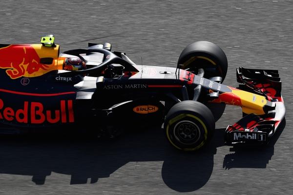 Max Verstappen course Russie 2018