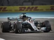 Lewis Hamilton course Abu Dhabii 2018
