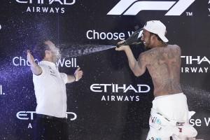 Lewis Hamilton top Abu Dhabi 2018