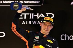 Max Verstappen top Abu Dhabi 2018