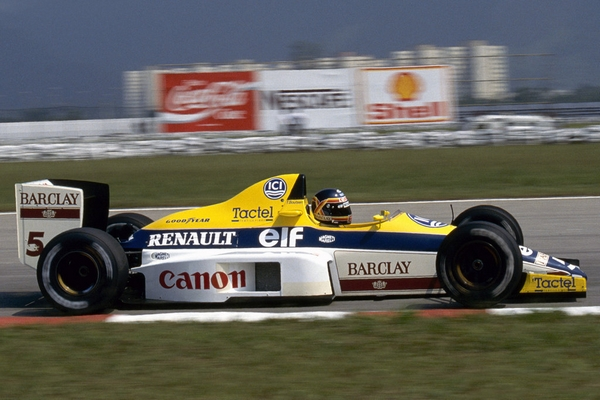 Thierry Boutsen Williams 1989