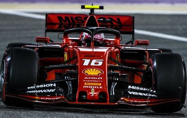 Charles Leclerc qualification Bahreïn 2019