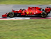 Charles Leclerc course Chine 2019