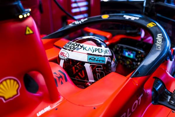 Charles Leclerc qualification Bakou 2019