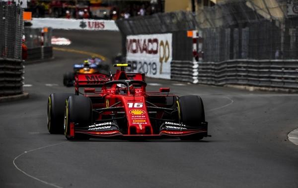 Charles Leclerc course Monaco 2019