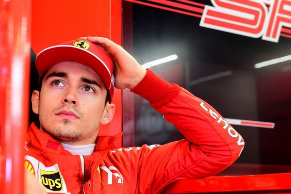 Charles Leclerc Monaco qualification stand 2019