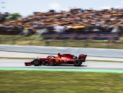 Charles Leclerc qualification Espagne 2019