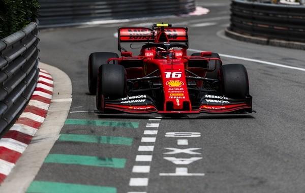 Charles Leclerc qualification Monaco 2019