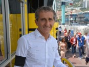 Alain Prost interview Monaco